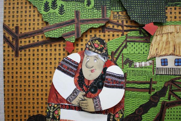 Ілюстрації до української народної казки «Гаманець»
