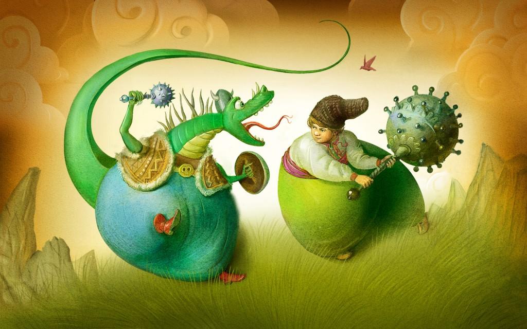 Інтерактивна казка «Котигорошко»