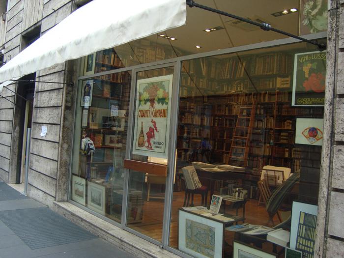 Букіністична книгарня у Римі