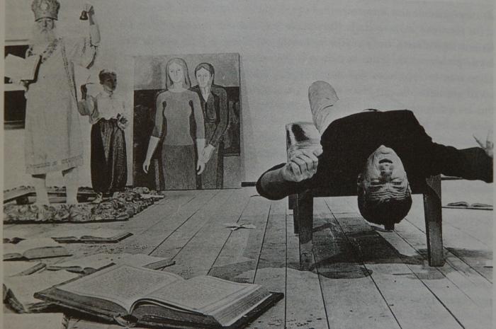 """Кадр з фільму """"Київські фрески"""",1966 р."""