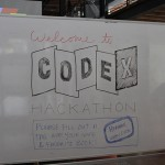 CODEX White Board Welcome