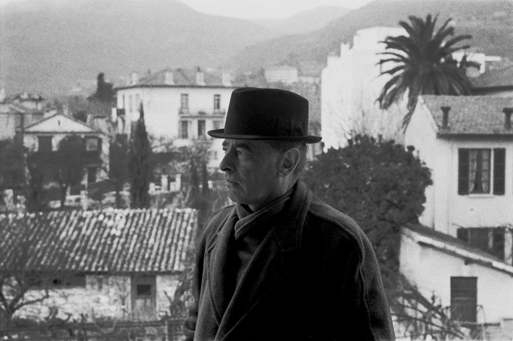 Witold Gombrowicz, Vence, 1965 fot. Bohdan Paczowski