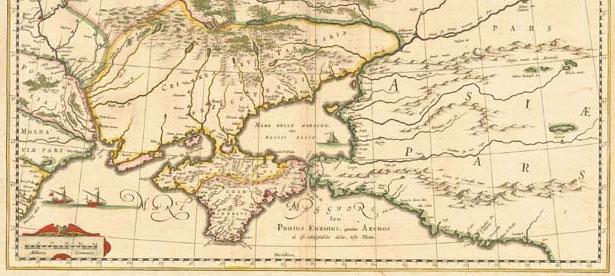старовинні кримські мапи