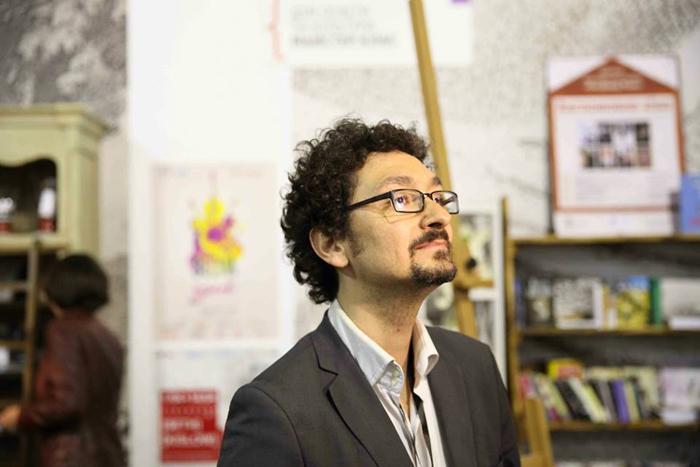 Давід Фоенкінос на Книжковому Арсеналі