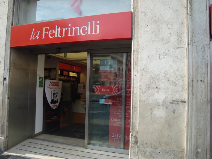 Італійська книжкова мережі La Feltrinelli