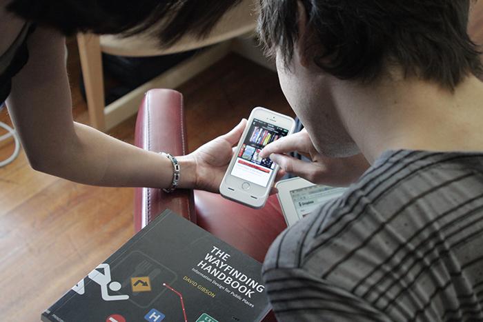 CODEX iPhone app