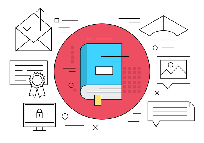 vector-free-education-icons