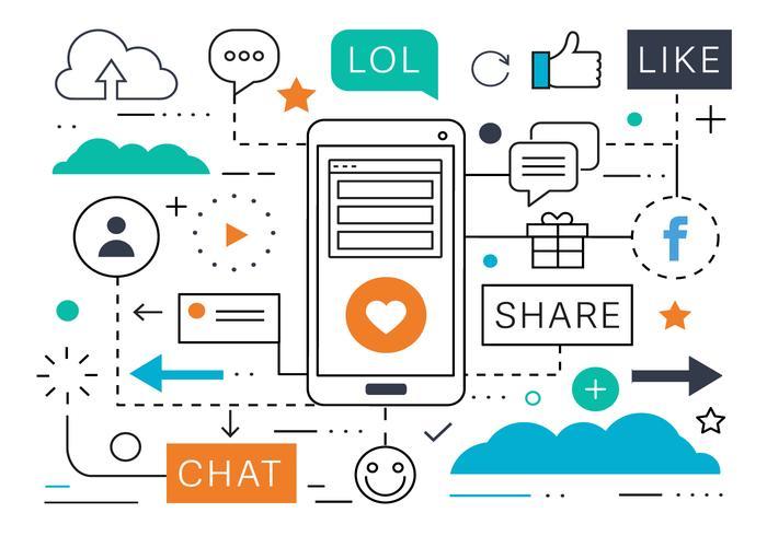 free-social-media-marketing-vector-illustration
